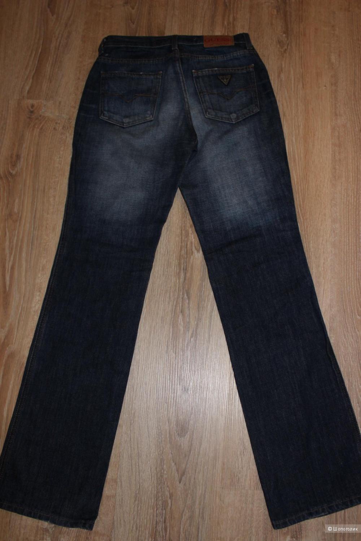Классические джинсы GUESS, высокая посадка, размер 27