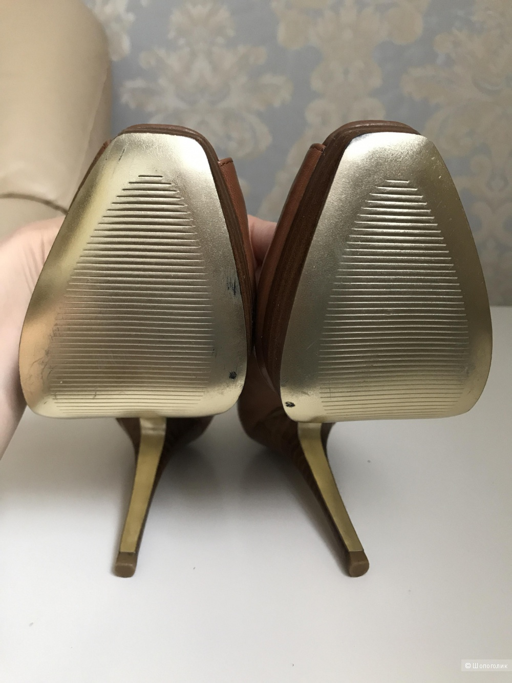 Туфли Steve Madden коричневые, 36 размер