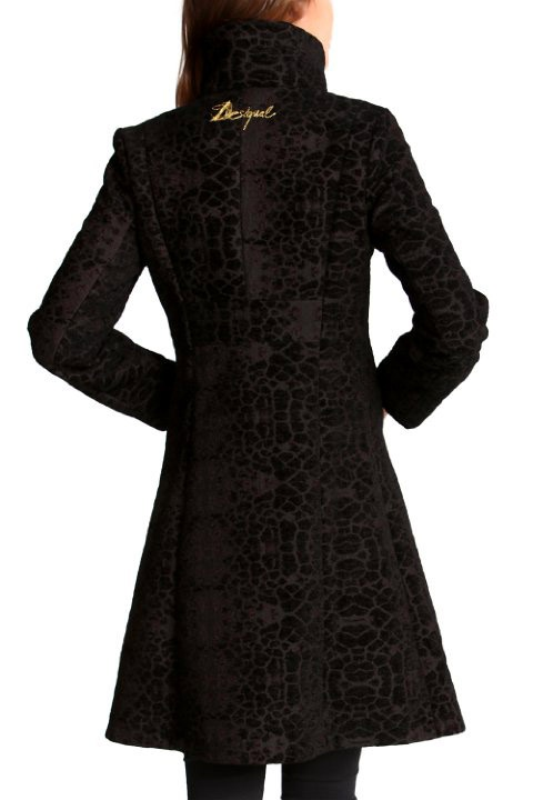 Очень женственное пальто Desigual р44
