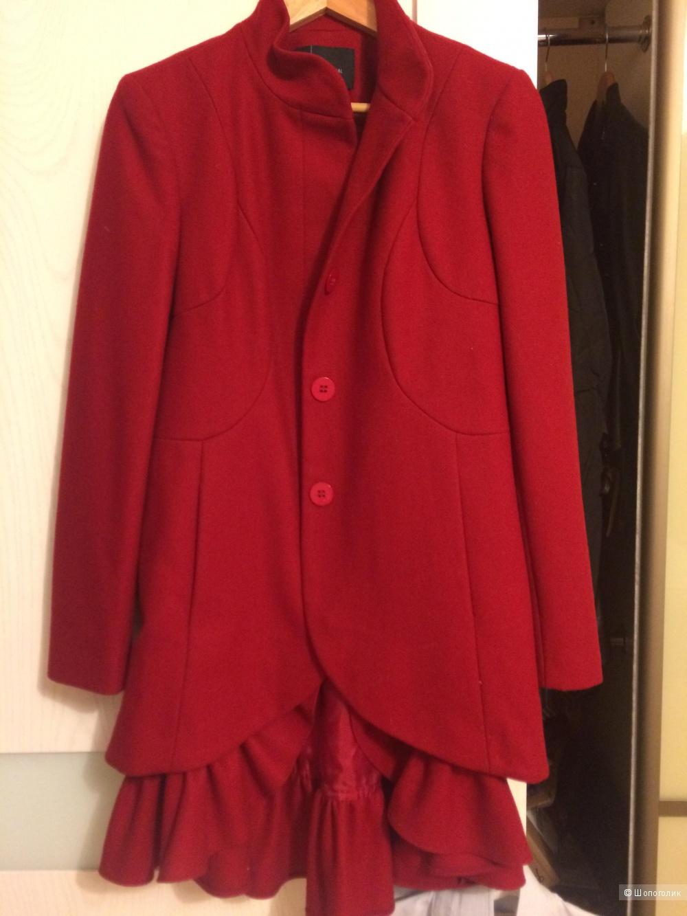 Шерстяное пальто Victoria's secret 4US (S M)