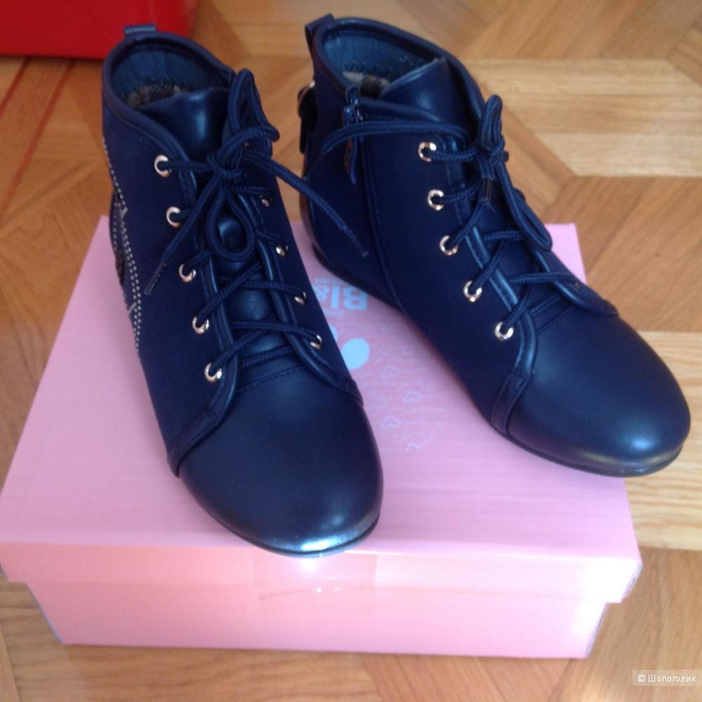Новые ботинки Bi&Ki, 33 размер