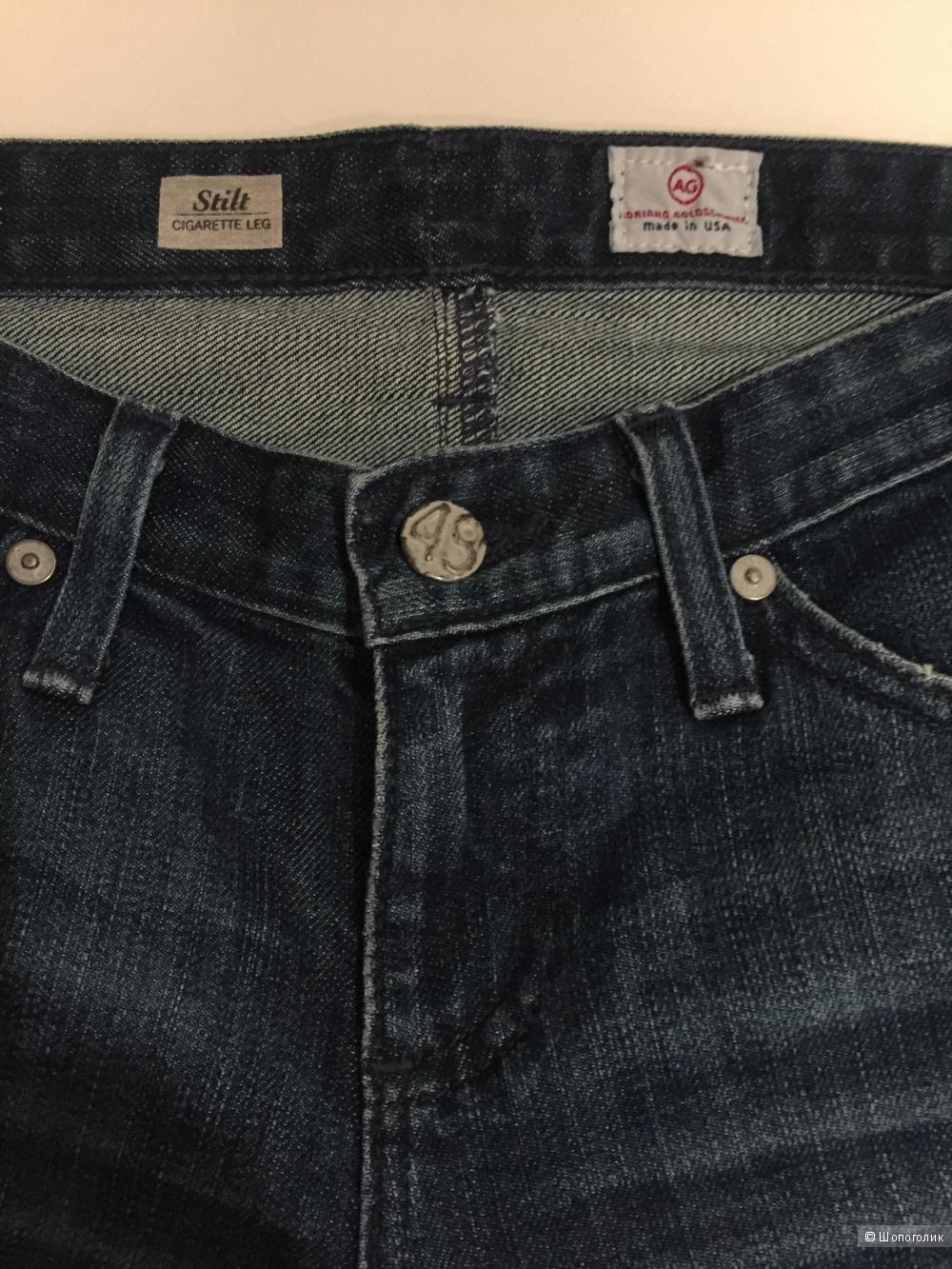 AG , Adriano Goldshmied, джинсы 25 раз.