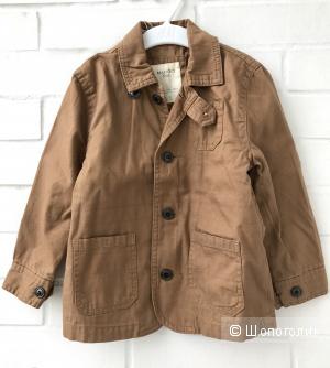 Новая хлопковая куртка Mango на 4 года
