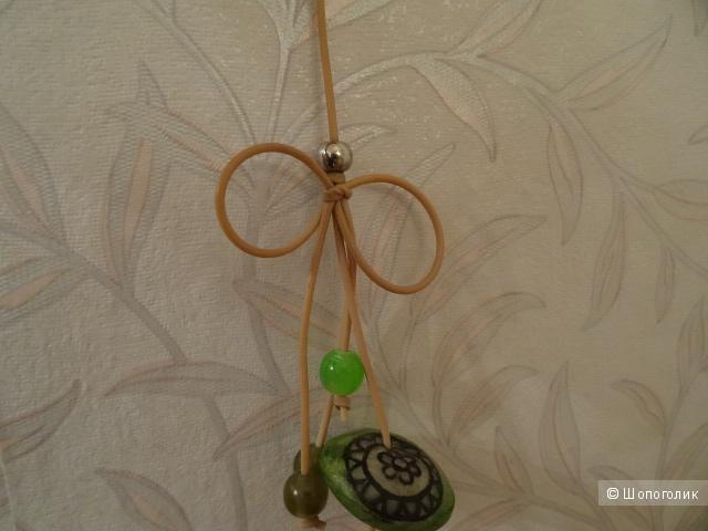 Ожерелье из перламутровых пуговиц, б/у
