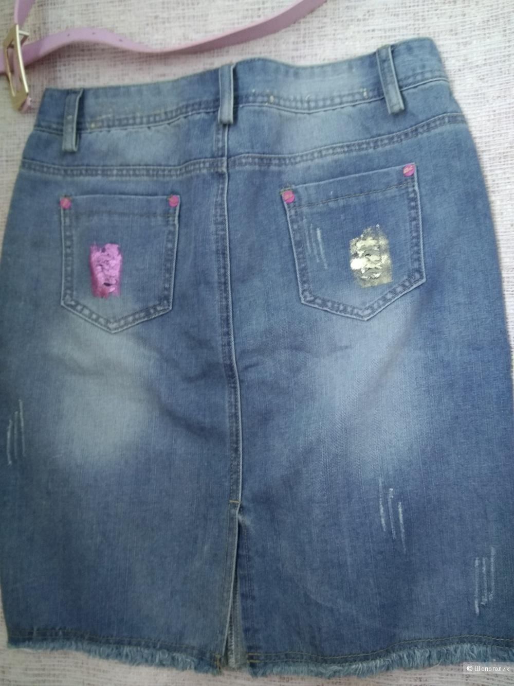 Юбка джинсовая  размер 42-44
