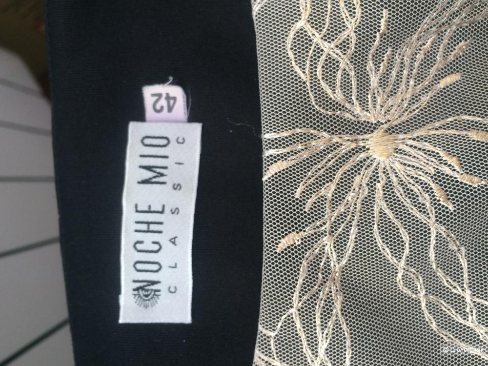 Черное платье - футляр  белорусского дизайнерского бренда Noche Mio (46 - 48 RUS)