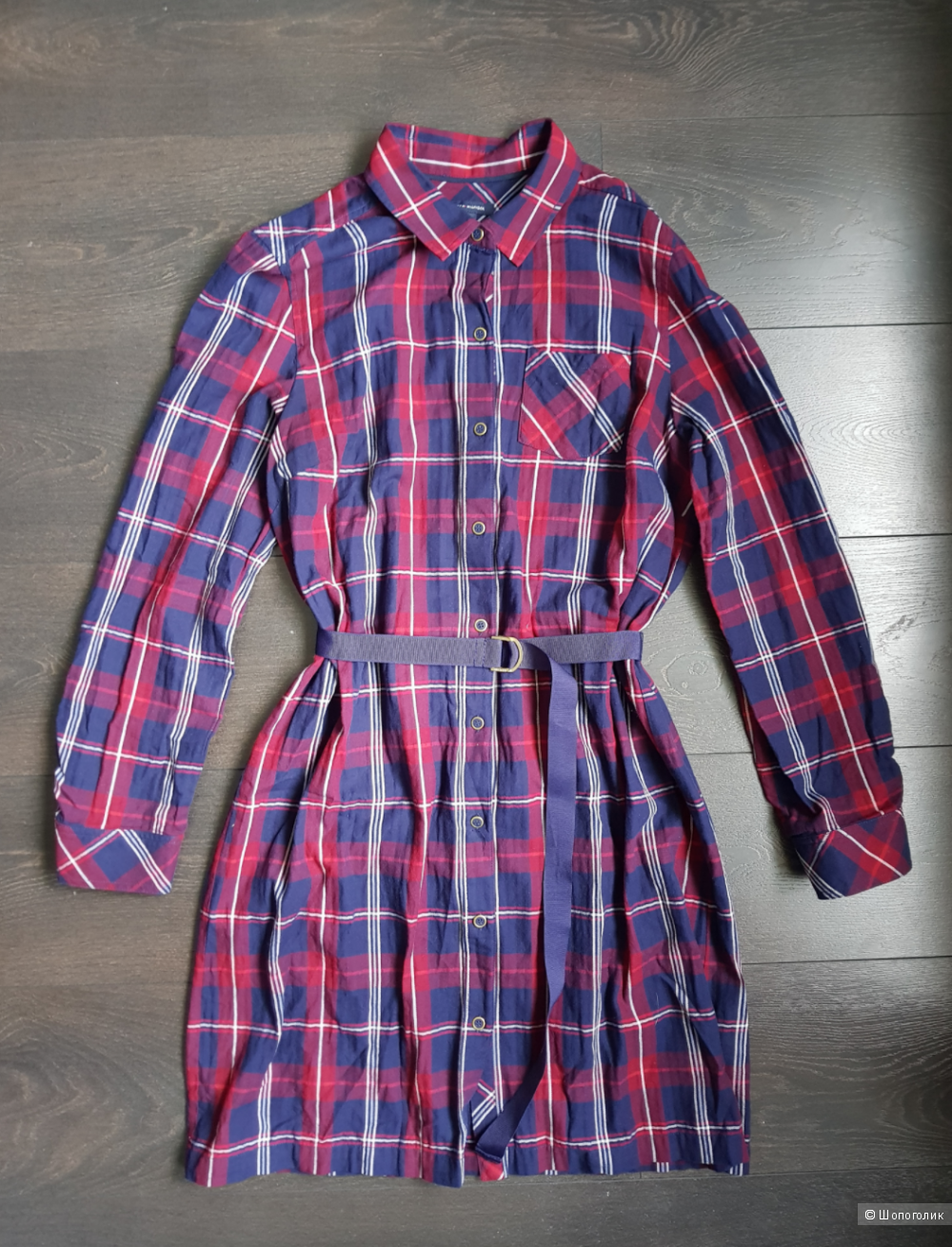 Платье - рубашка Tommy Hilfiger L