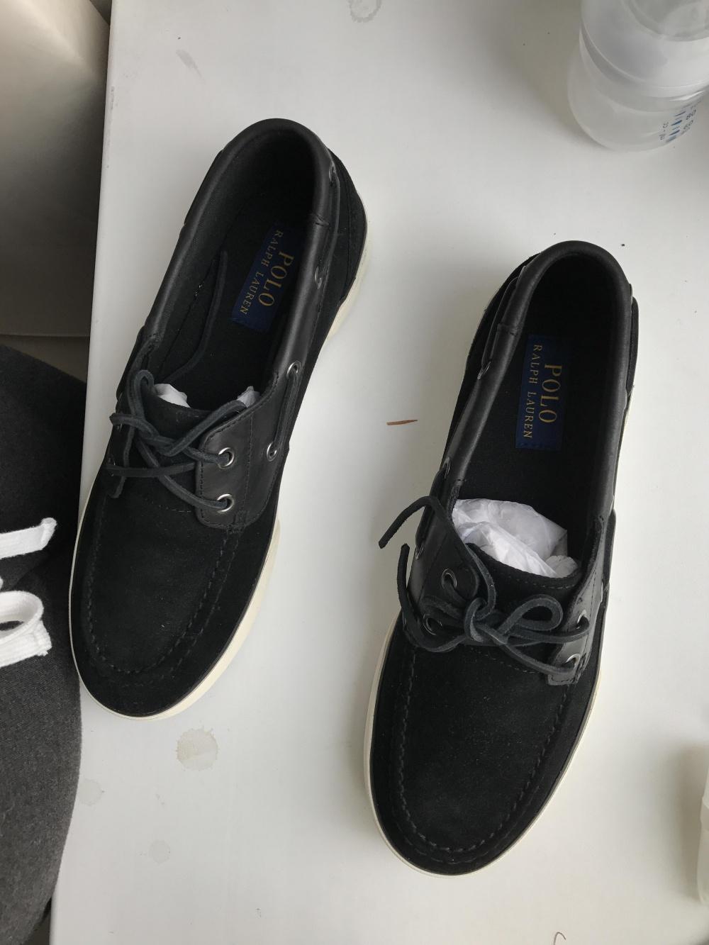 Кеды топсайдеры Ralph Lauren, размер 8.5 американский мужской