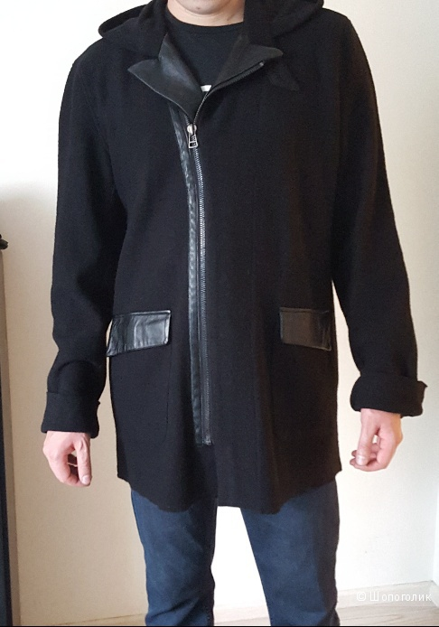 Пальто шерстяное, размер L,  Michel Berandi