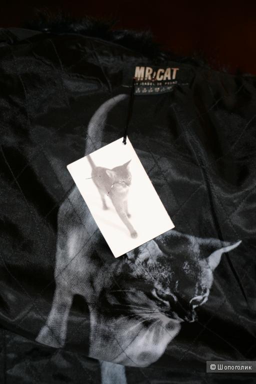 """Куртка-плащ """"MR.CAT"""" Испания р. S/M новая весна осень"""