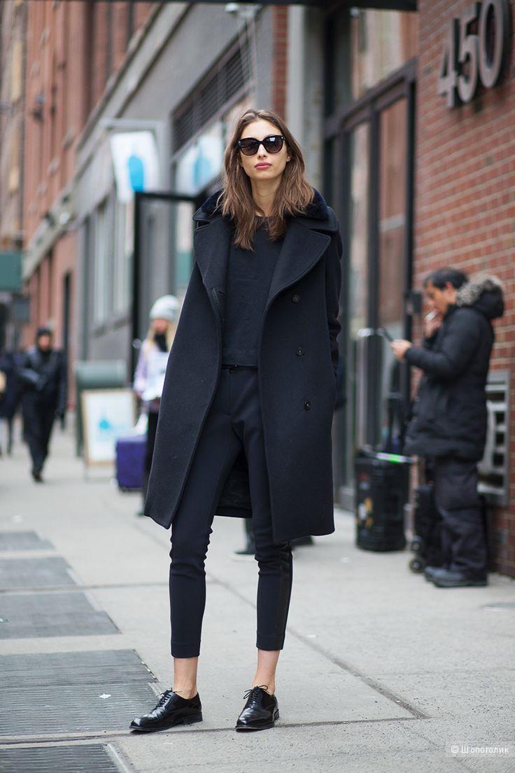 Céline women's flats lace-up oxfords shoes in black Leather - Оксфорды Céline черного цвета 39 размера