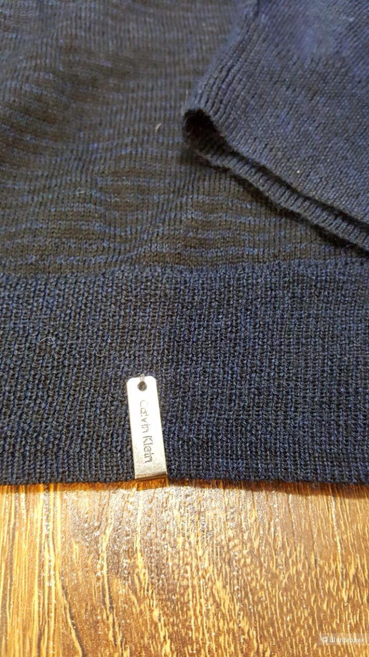 Calvin Klein мужской свитер из шерстяного трикотажа.Новый.Оригинал.р.xl-52