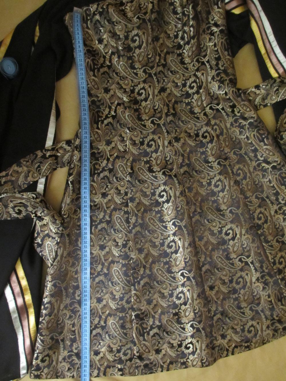 Шикарное золотое платье 44 размера