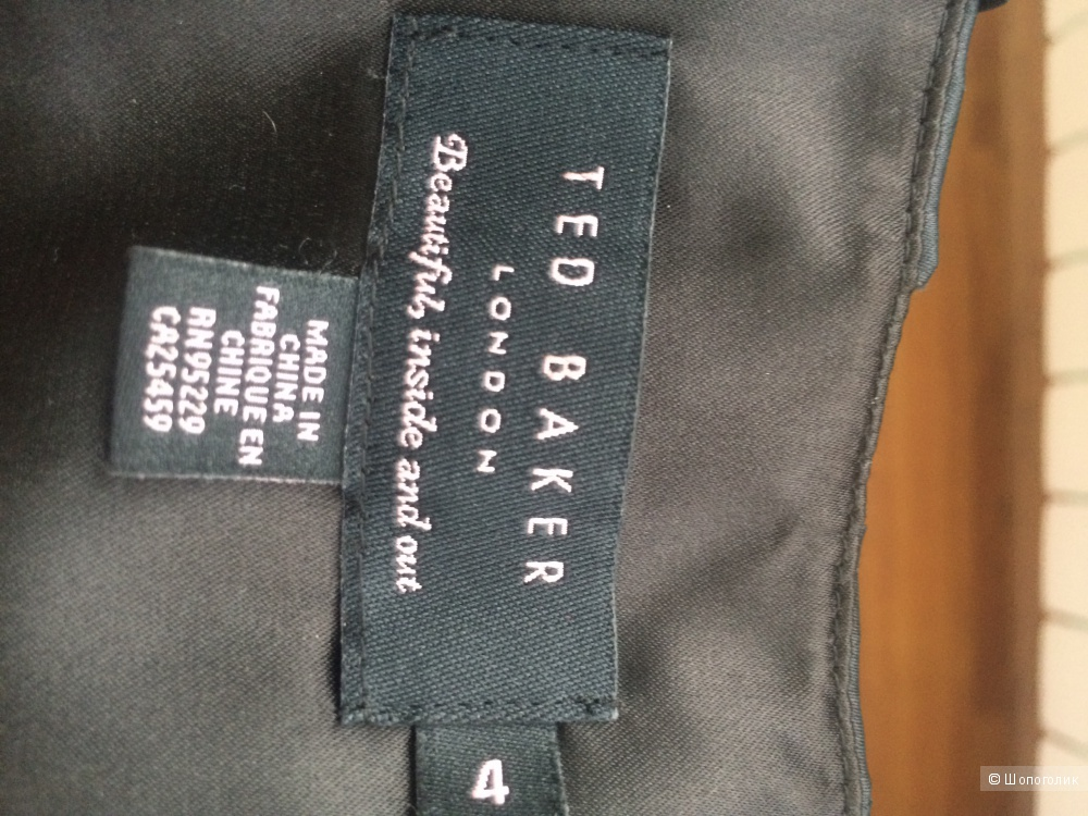 Новое черное платье - футляр Ted Baker (размер 4 - 48 RUS)