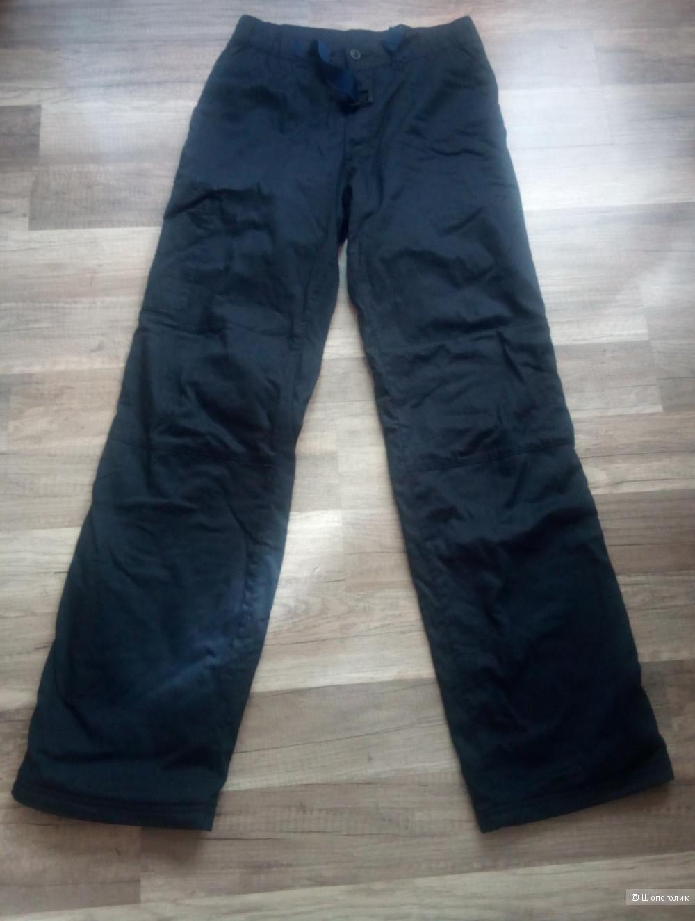 Тёплые штаны на флисе новые 46 размер
