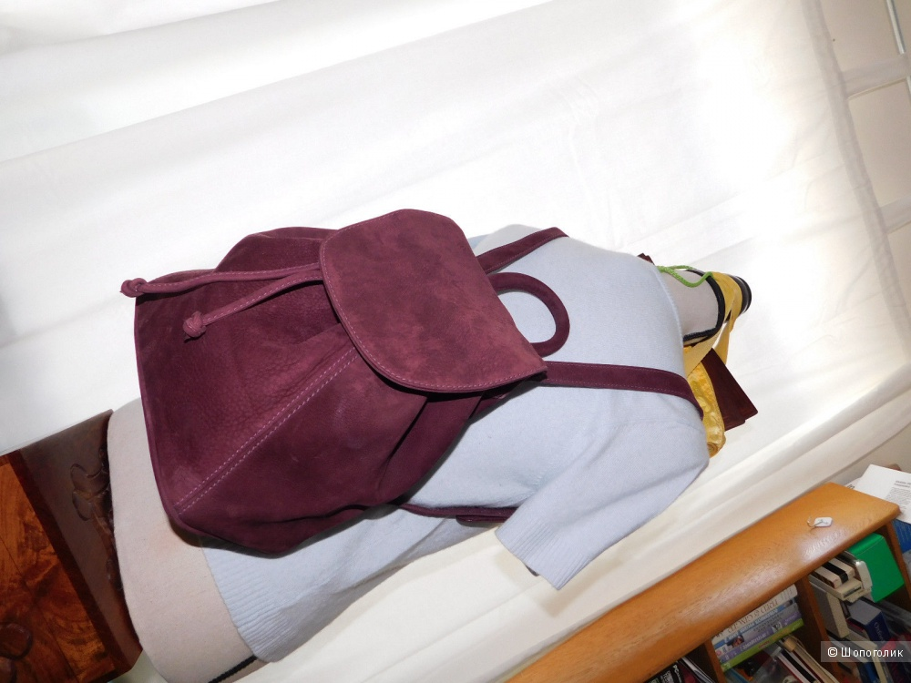 Кожаный рюкзак coach