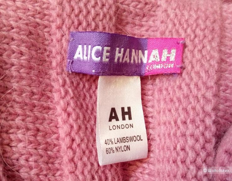 Шарф-снуд Alice Hannah (40% овечьей шерсти)