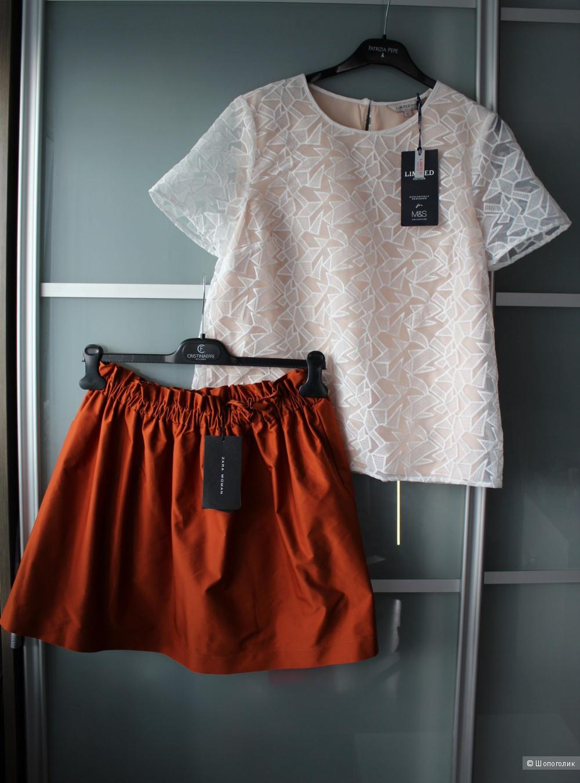 Новая юбка Zara р-р M