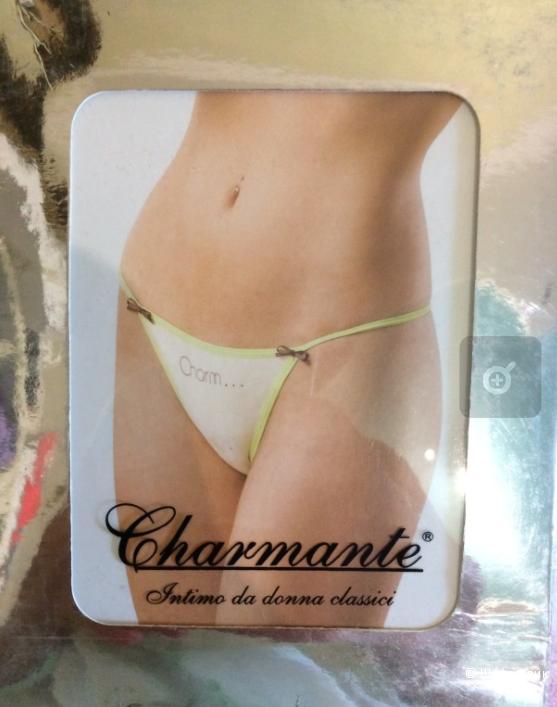 Стринги Charmante (Италия), 2 шт. в комплекте, размер S-M