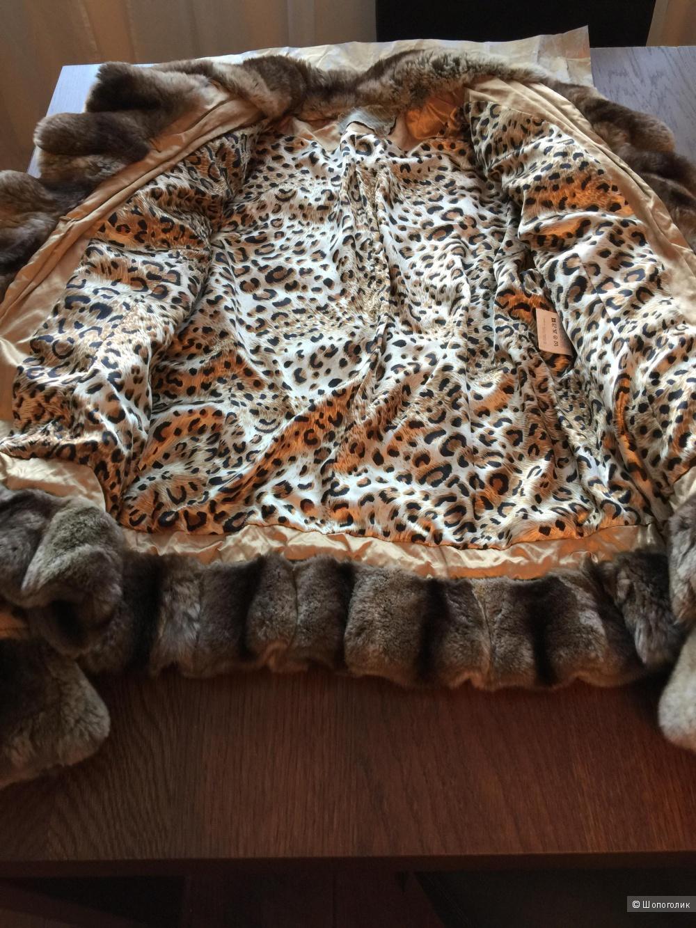 Куртка с натуральным мехом оригинал размер 44
