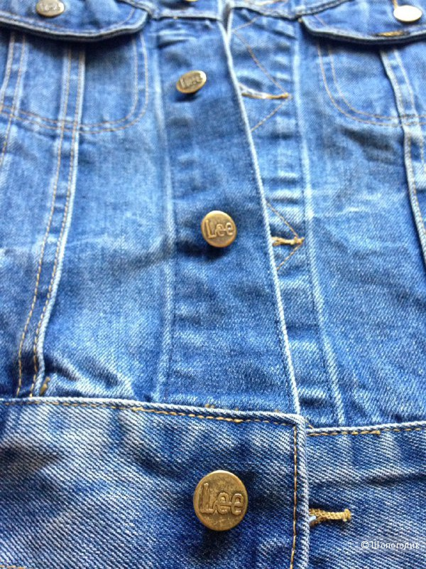 Джинсовая куртка Lee S-XS