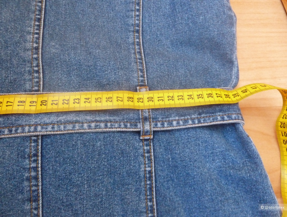 Джинсовый жилет MONTANA размер S