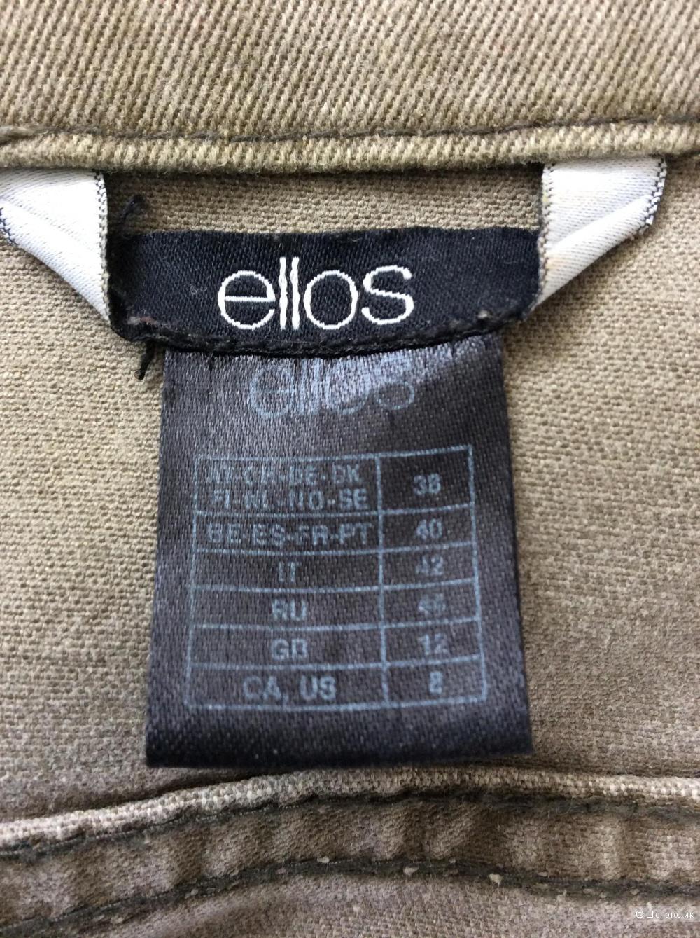 Короткая джинсовая куртка-жакет Ellos р.38 (на 44-46)