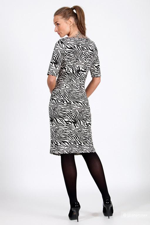 Платье с принтом 44-46, Magnolica