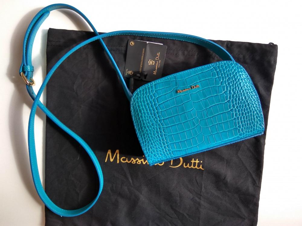 Massimo Dutti сумка нат.кожа новая