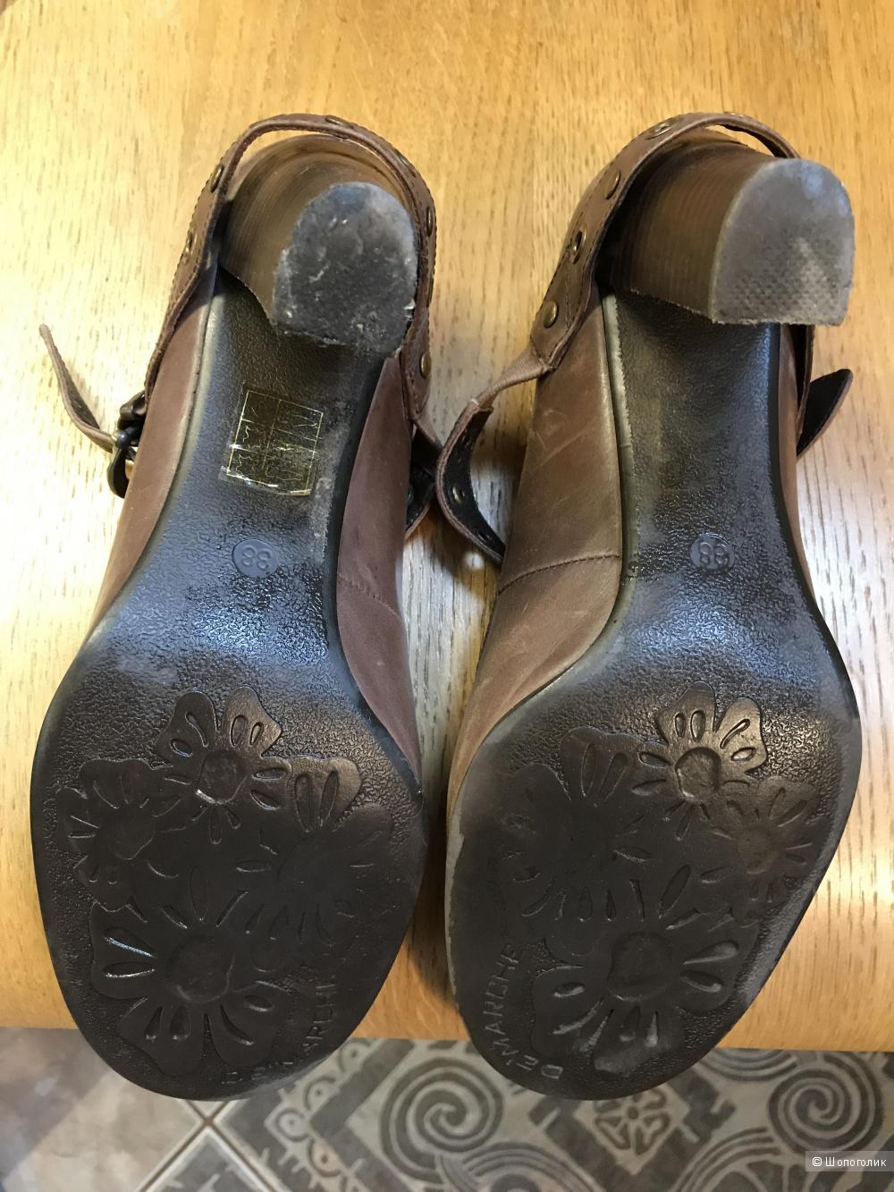 Осенние  туфли   De'Marche,  размер 38