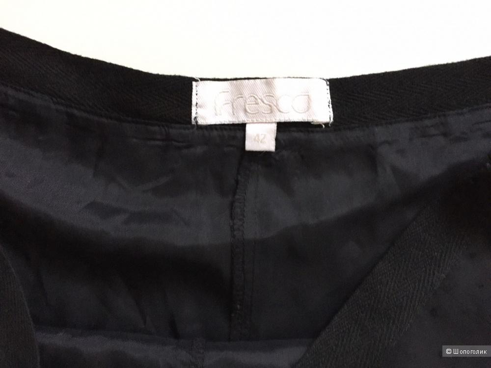 Юбка шифон черный марки FRESCO  (Англия)размер 42-44