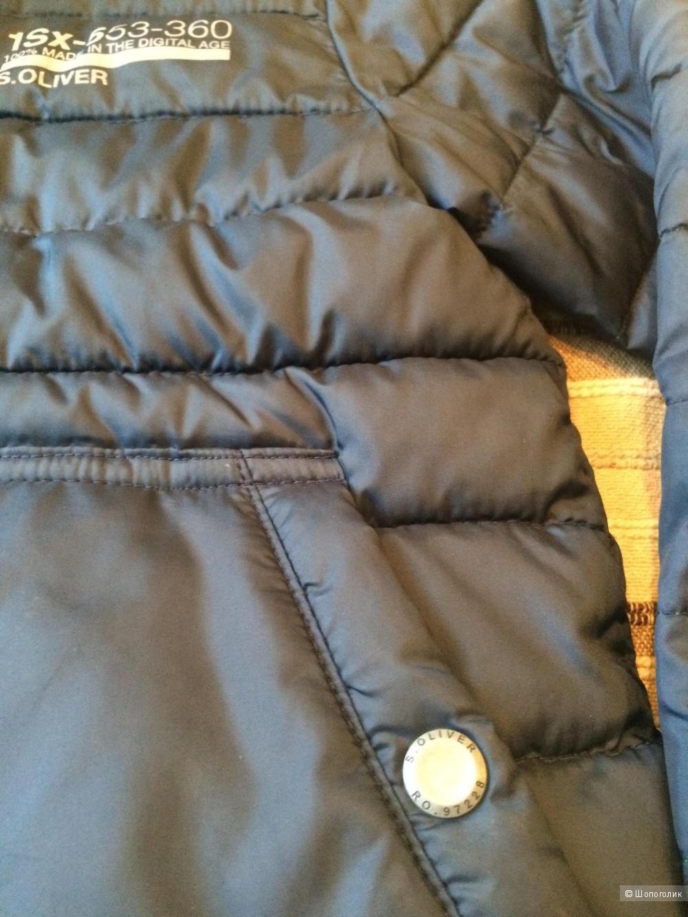 Демисезонная куртка для мальчика S.Oliver, рост 128