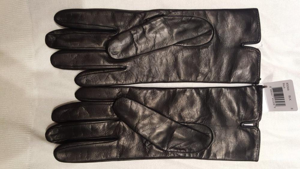 Кожаные перчатки от COACH . Новые.Оригинал р.8