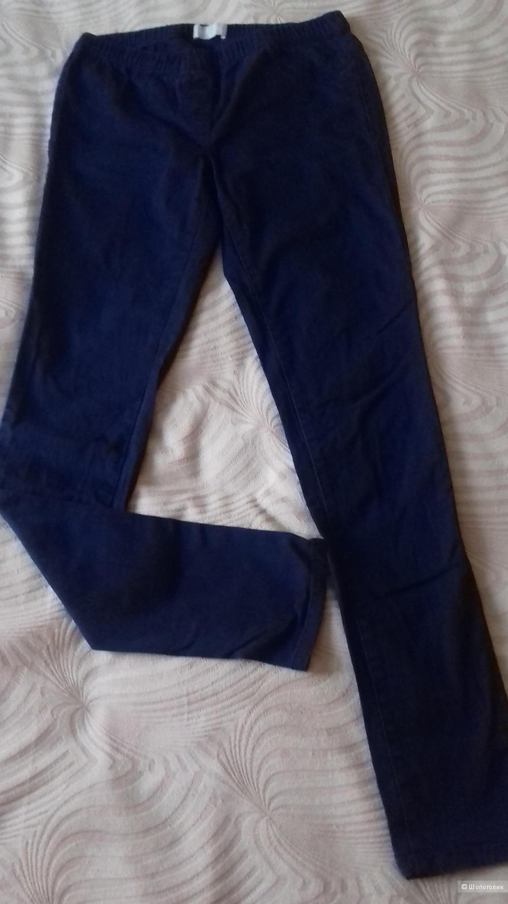 Джеггинсы Pieces, темно-синие, размер S (42/44)