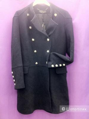 Новое шерстяное пальто Love Republic, 46-48
