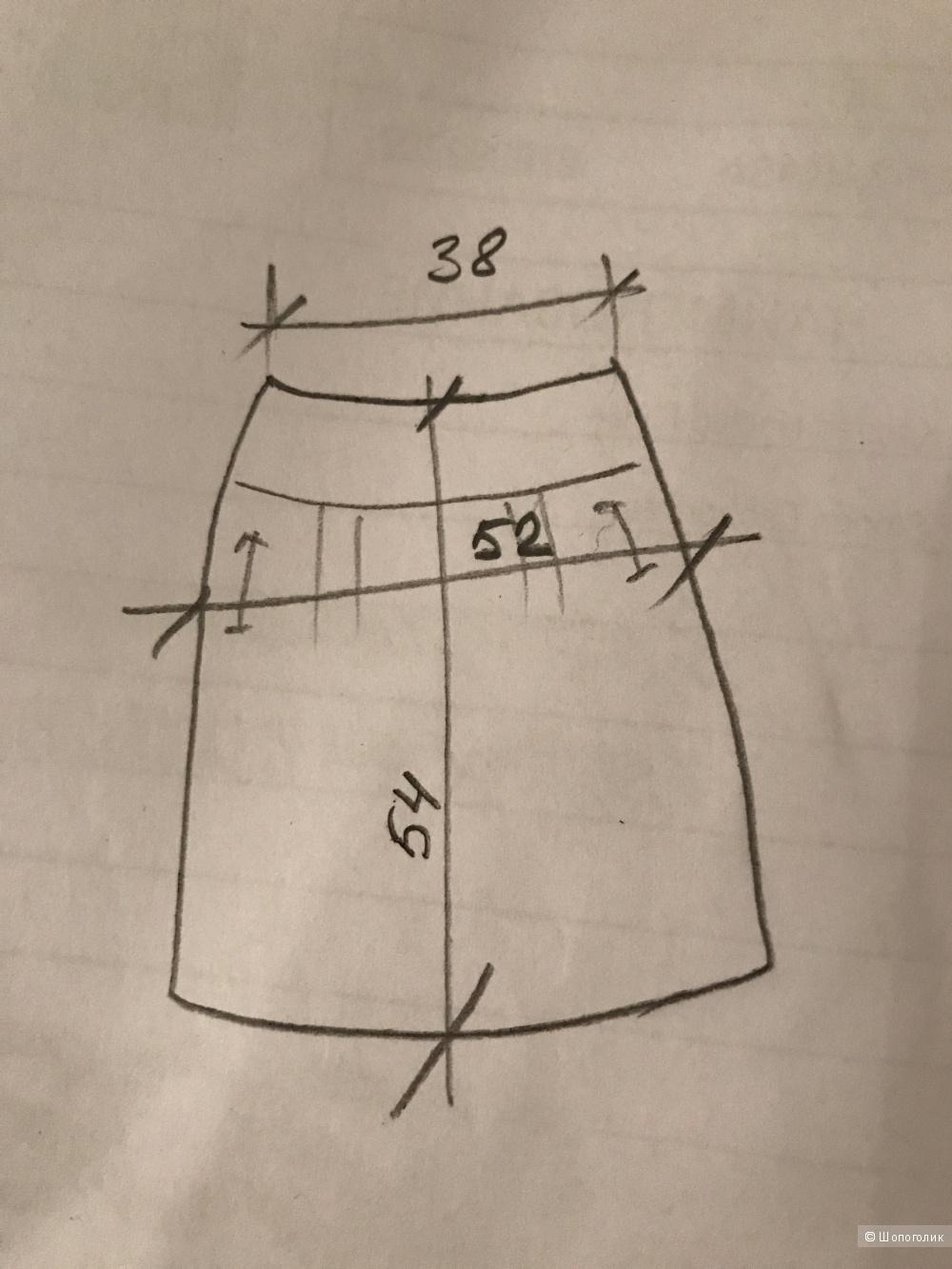 """Джинсовая юбка размер М фирма """"8"""""""