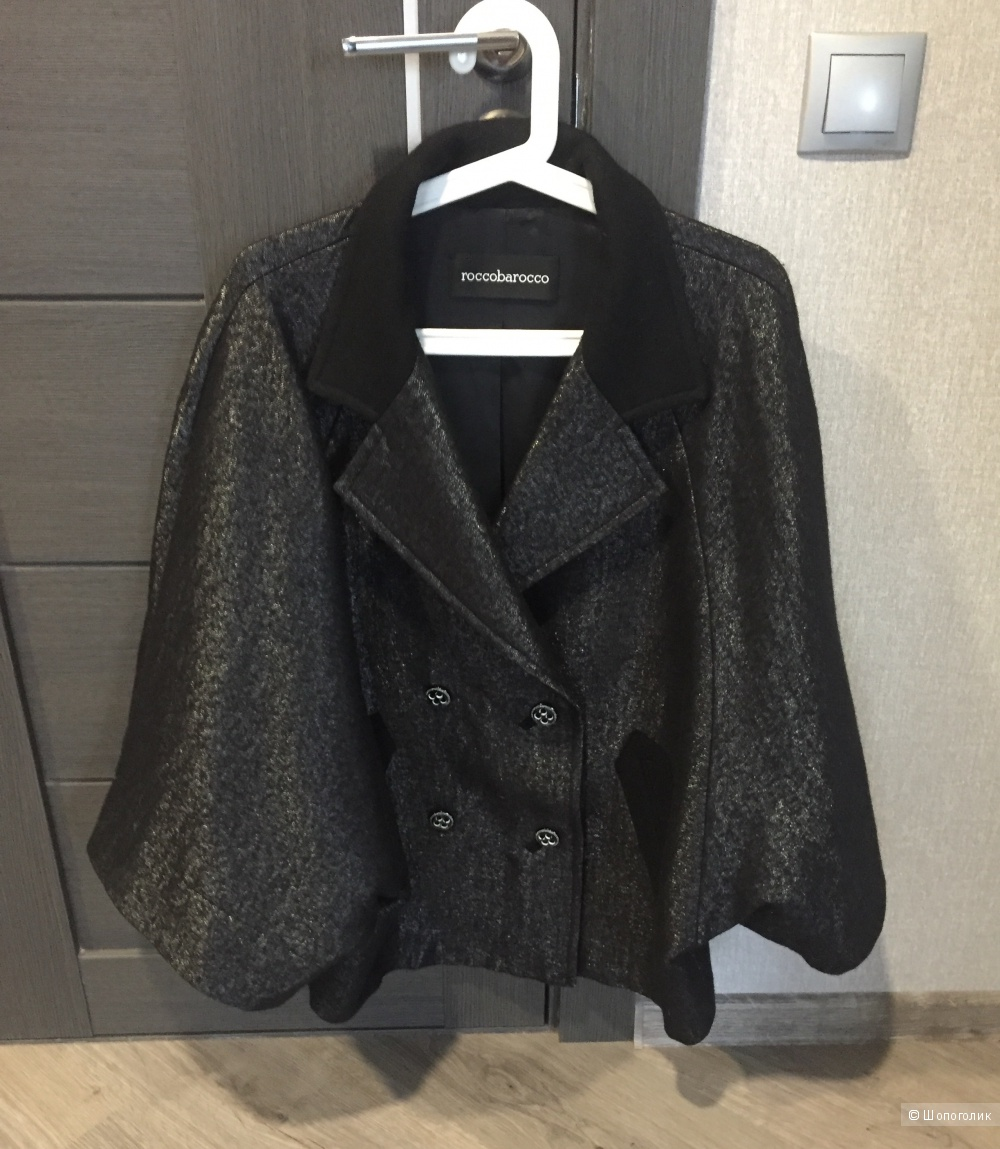 Итальянское пальто-пончо ROCCOBAROCCO на  44-50 росс.