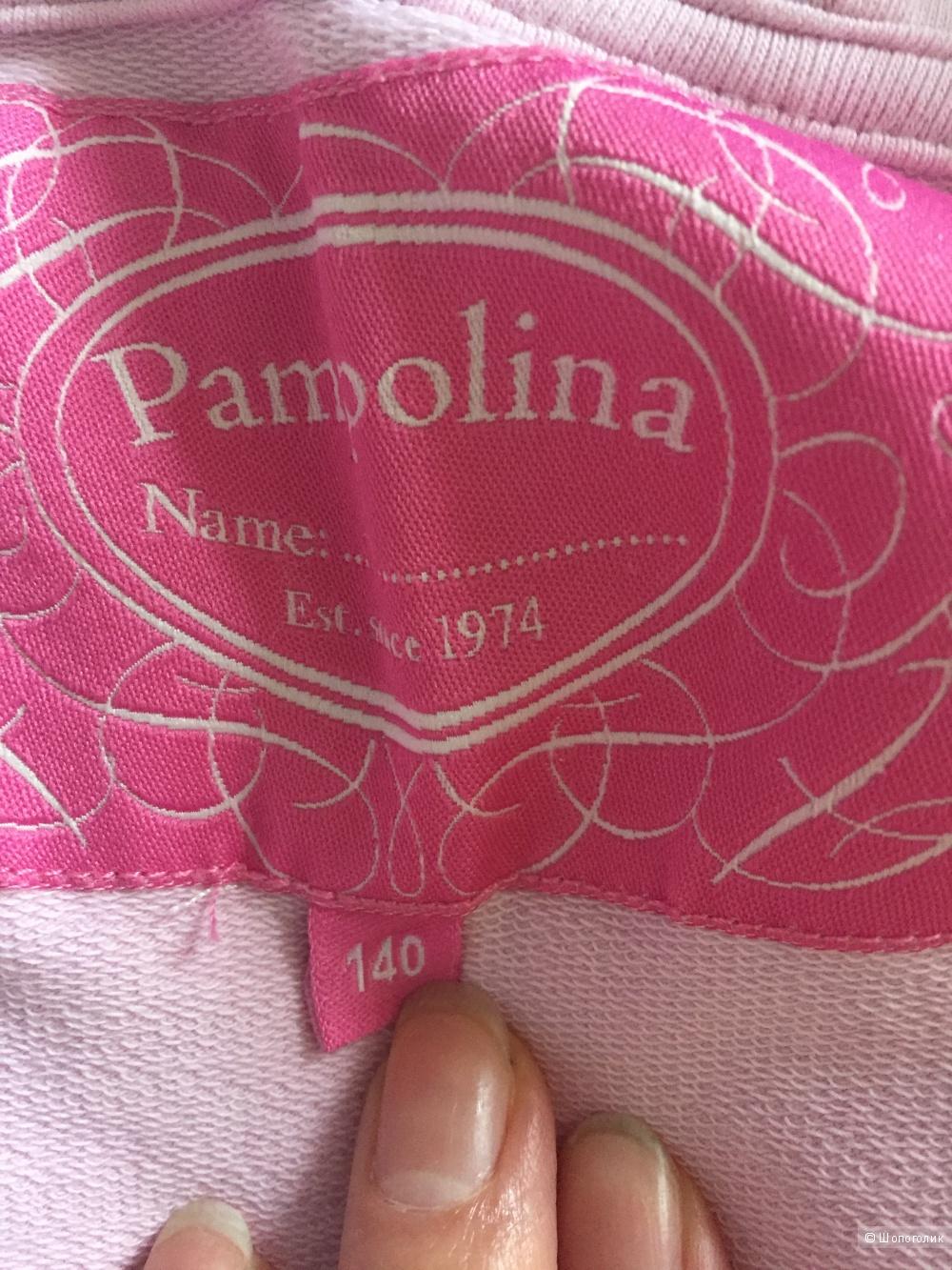 Хлопковая толстовка ф.Pampolina 140 разм