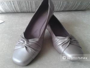 Кожанные туфли Clarks,размер 9.5