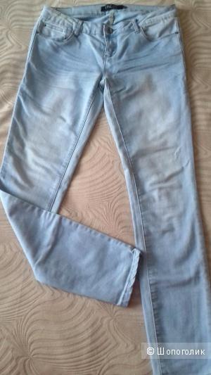 Джинсы INCITY, светло-синие, 29 размер (44/46)