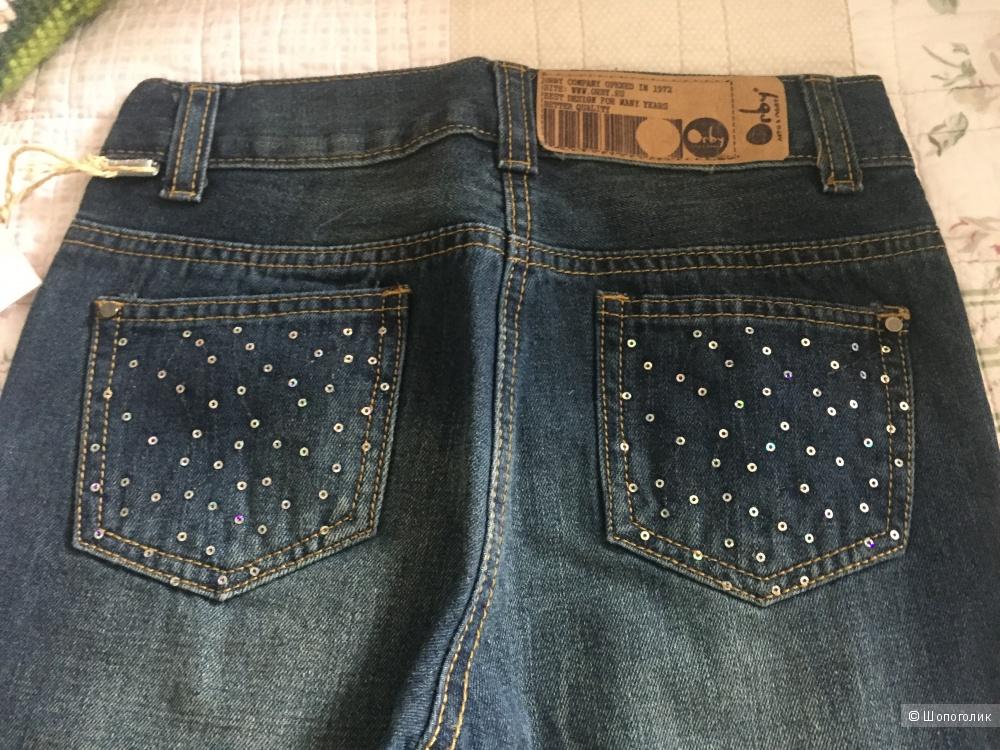 Новые джинсы ф.Orby 128-134 для девочки