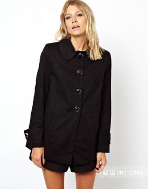 Расклешенное пальто фирмы ASOS 46 размер