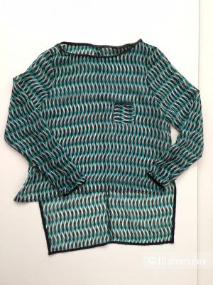 Шикарный блузон от марки ZARA BASIC  размер  S