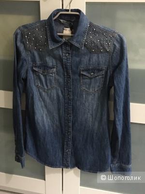 Джинсовая рубашка Mavi новая XS