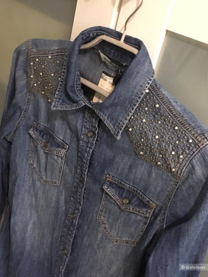 Джинсовая рубашка Mavi  XS