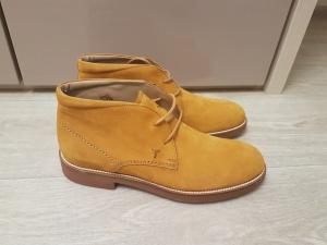 Замшевые ботинки - дезерты Tod's, размер 42-43