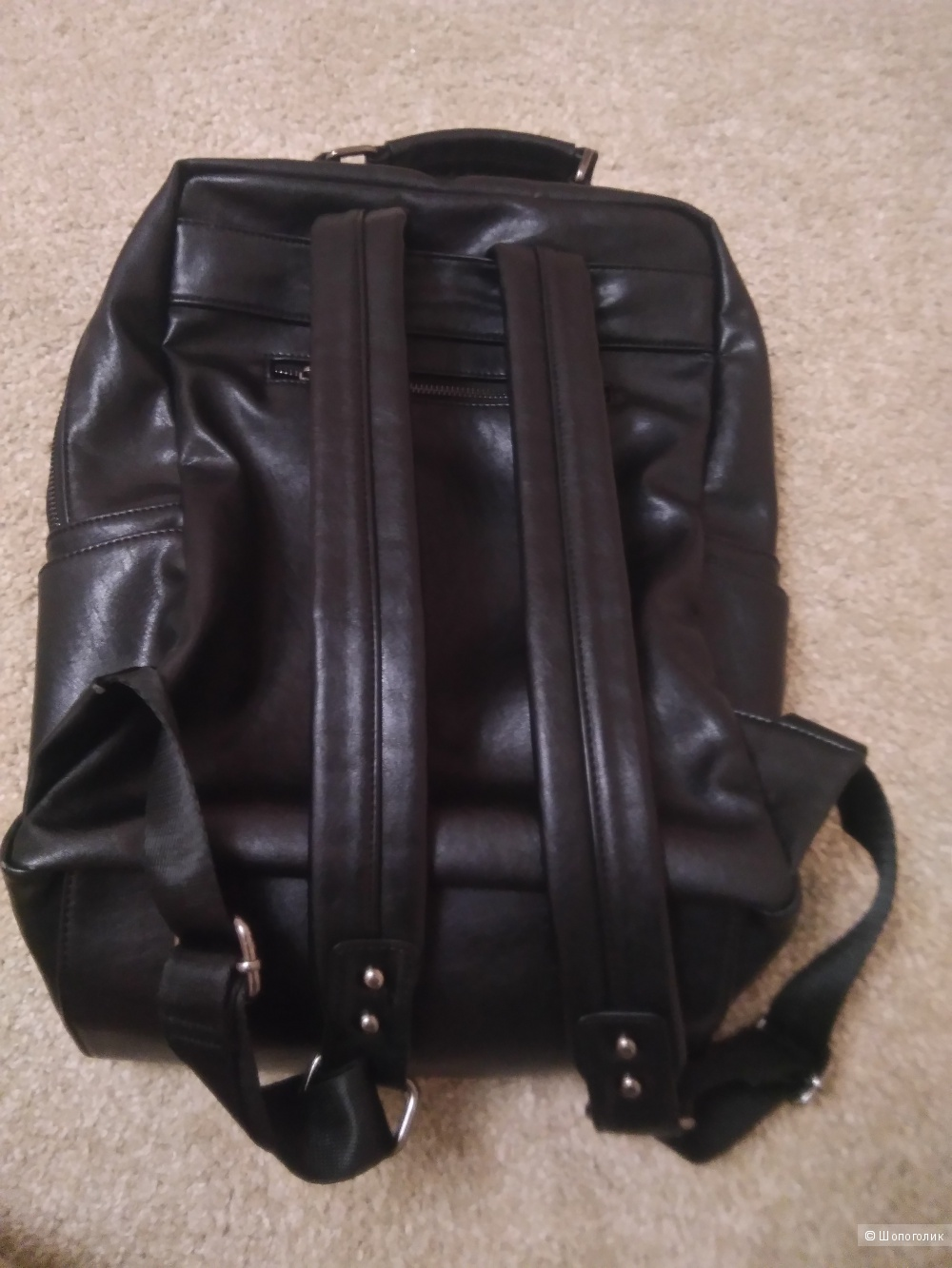 Рюкзак из натуральной кожи, no name.