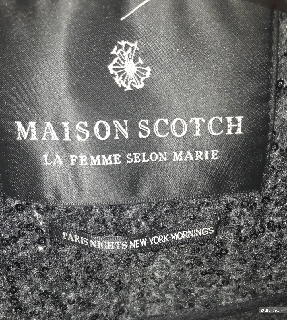 "Пальто,""Maison scotch"",42"