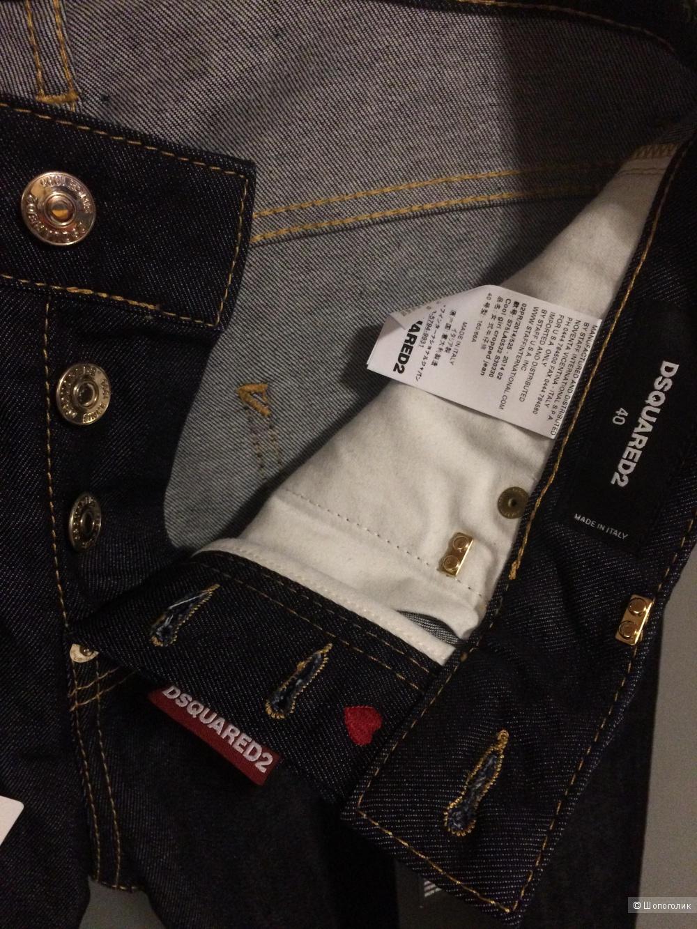 Женские джинсы Dsquared2. 42 росс