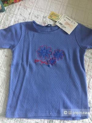 Сет новых футболок ф.Pampolina для девочки на 122-128